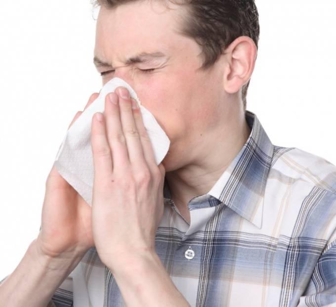 забиты пазухи носа