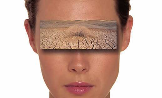 песок в глазах что делать