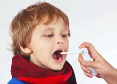 как лечить горло ребенку 3 года