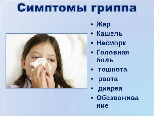 насморк головная боль слабость температуры нет