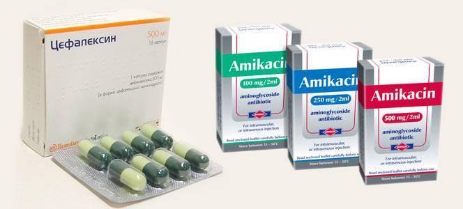 антибиотики при воспалении мочевого пузыря у мужчин