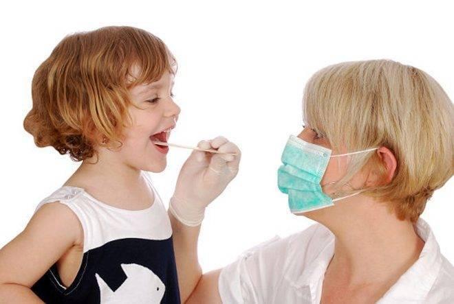 Лечение горла детей народными средствами