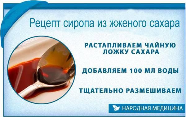 Жженый сахар от кашля ребенку как готовить