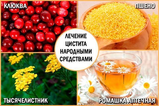 лечение цистита пшеном рецепт