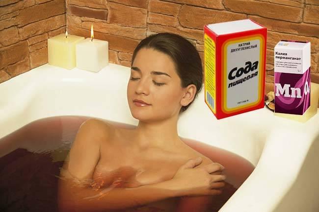 ванночки при цистите у женщин