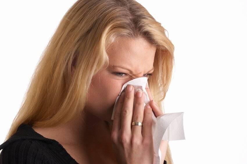 чешется нос внутри и чихаю