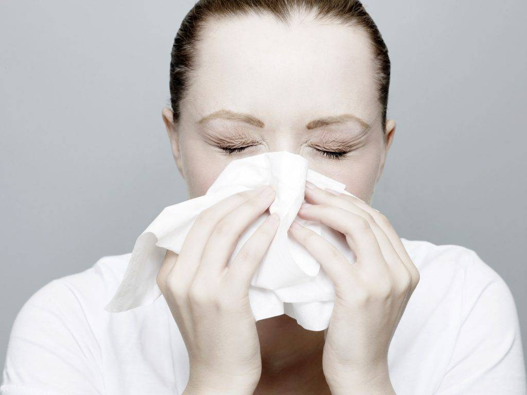 насморк чихание без температуры