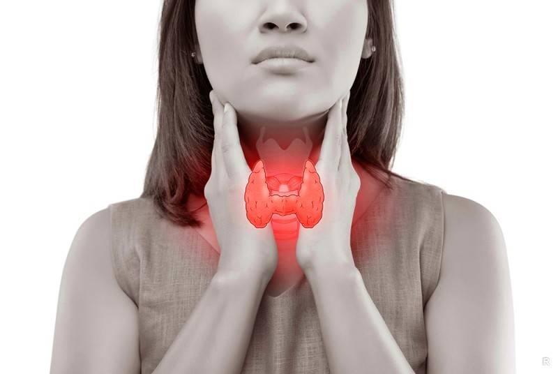 Когда болит щитовидная железа