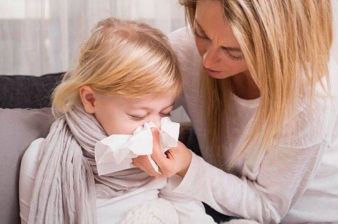 длительный кашель у ребенка