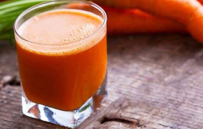 Как правильно принимать морковный сок?