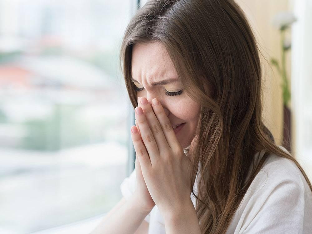 зуд в носу причины инфекция