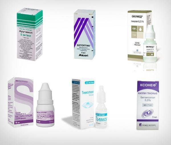 лечение глаукомы препараты