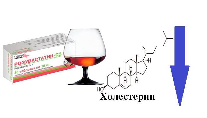 Поможет ли алкоголь снизить уровень холестерина