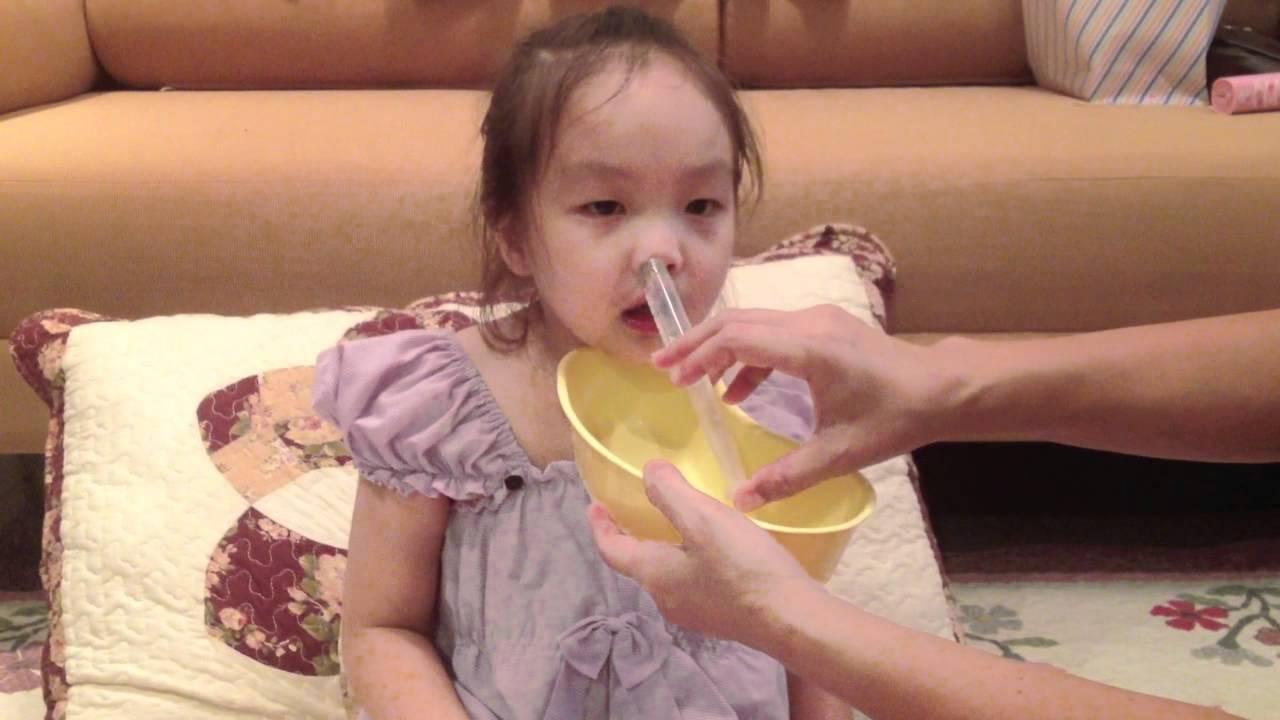 Как промывать нос физраствором ребенку от 0 до 3 лет и старше