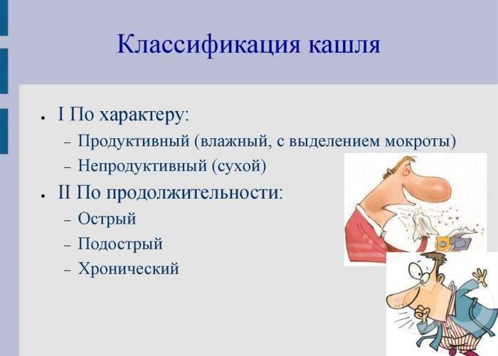 Какой бывает кашель причины и как его лечить