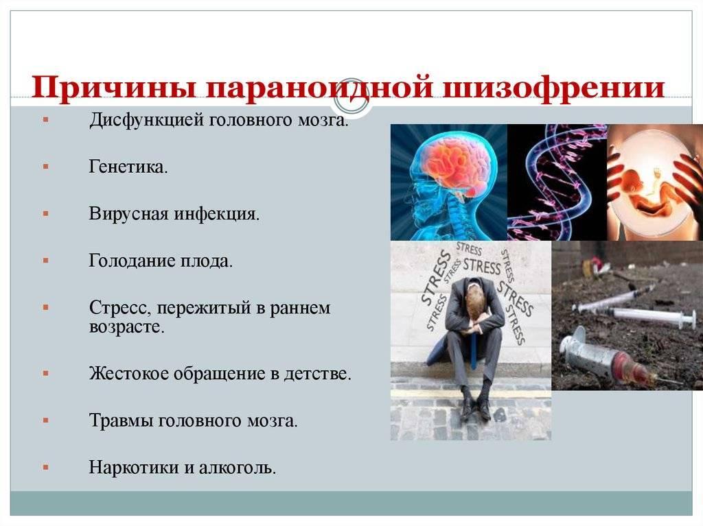 Бредовая действительность: признаки и симптомы параноидальной шизофрении