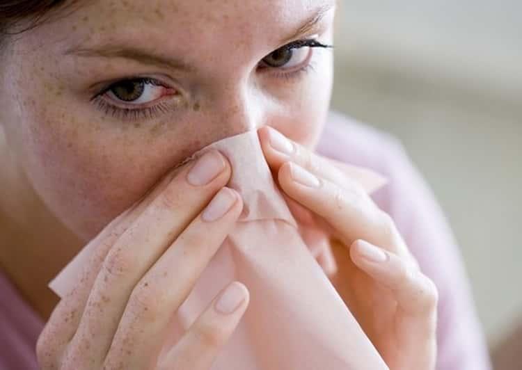 пересушенная слизистая носа