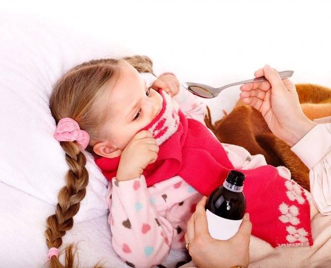 красное горло и кашель у ребенка лечение
