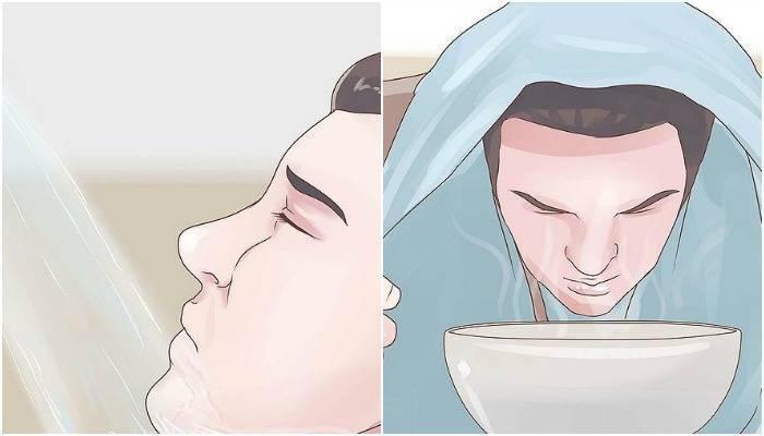 отек в носу у ребенка лечение