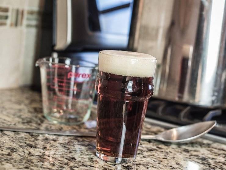 теплое пиво от боли в горле