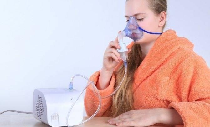 лечение ларингита небулайзером