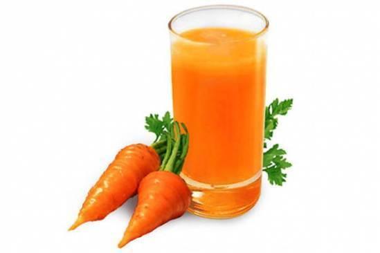Морковный сок от насморка для новорожденных