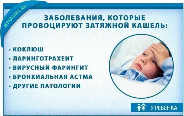 Лечение затяжного кашля у детей