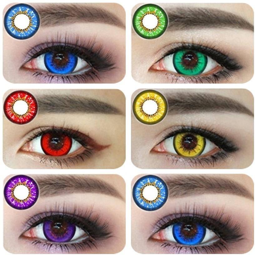 Вредны ли цветные линзы для здоровых глаз. вредны ли цветные линзы для глаз