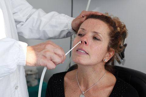 лечение гайморита с помощью небулайзера