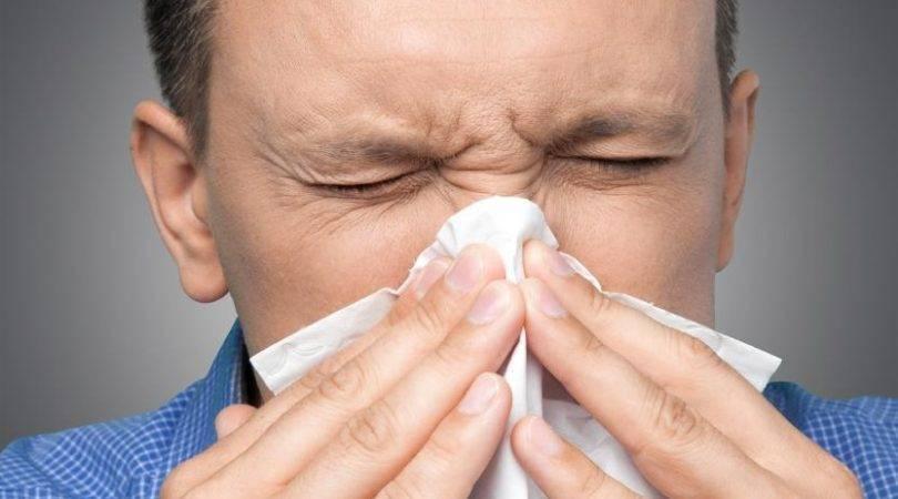 часто чихаю и течет из носа