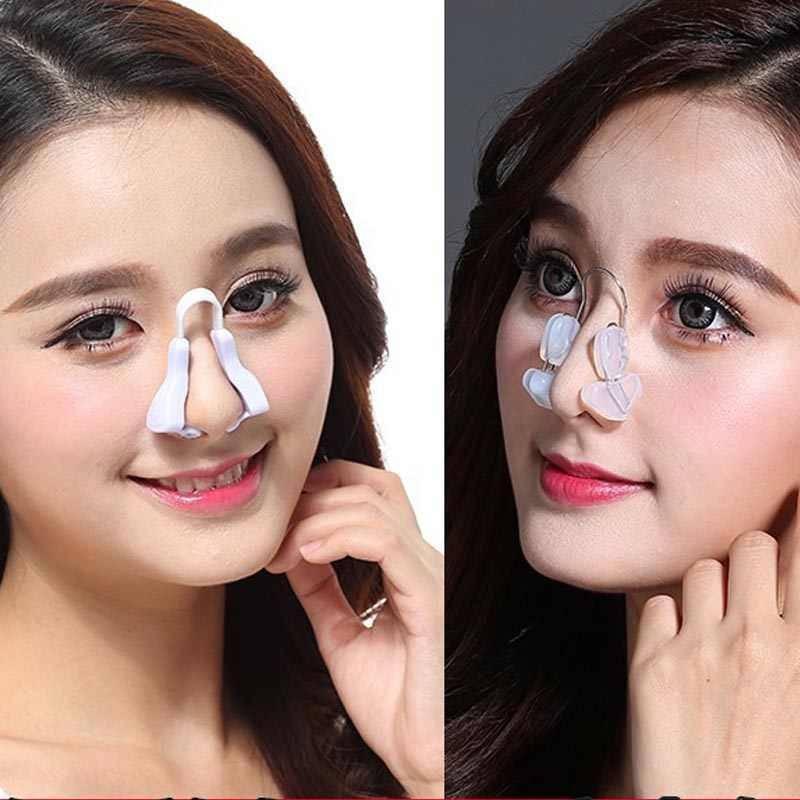 Как зрительно уменьшить нос разными средствами?