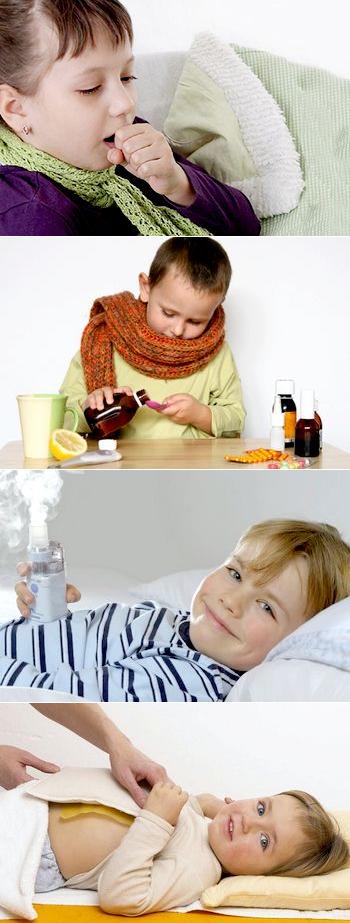 лечить кашель у детей