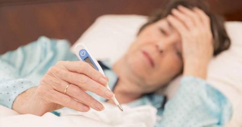высокая температура при цистите у женщин