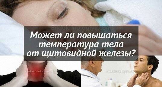 щитовидная железа субфебрильная температура