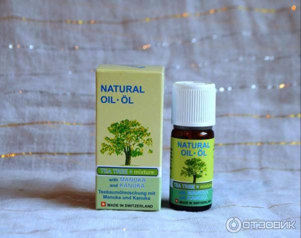 масло чайного дерева дерматит