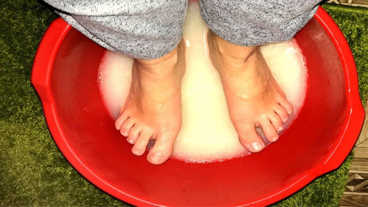 греть ноги при насморке