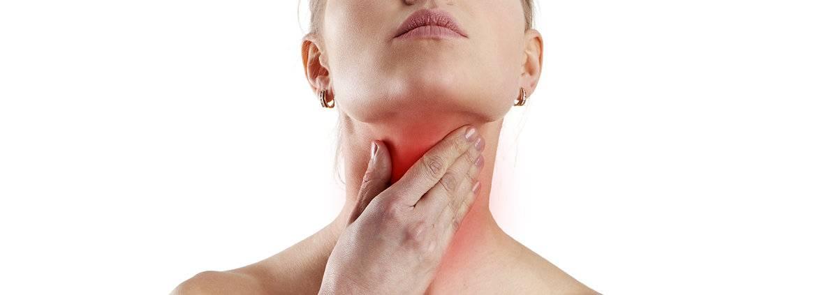 При заболевание щитовидки может болеть шея