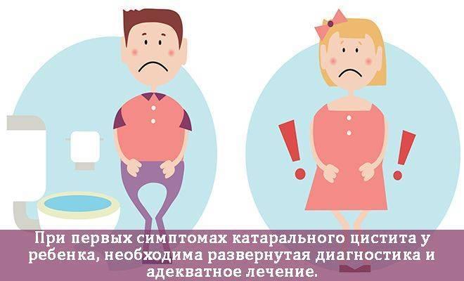 Цистит у детей. что делать и как лечить?