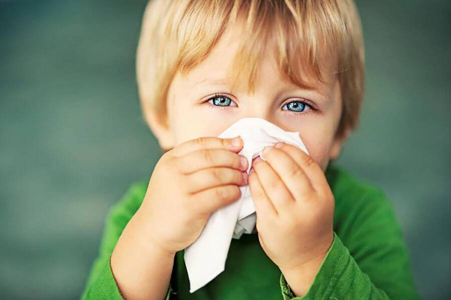 аллергический ринит у детей лечение