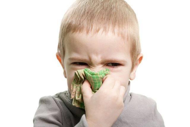 Чем помочь, если ребенок стал чихать и появились сопли