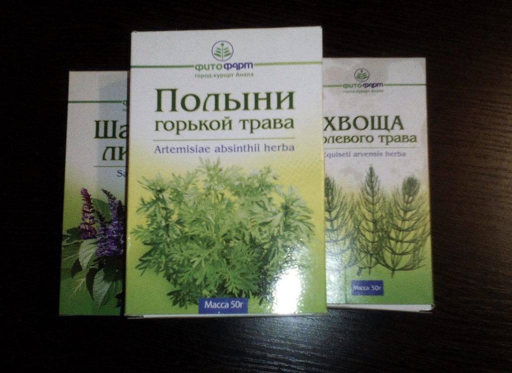 лечение паразитов травами