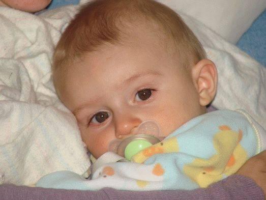 Лечим насморк у детей до года