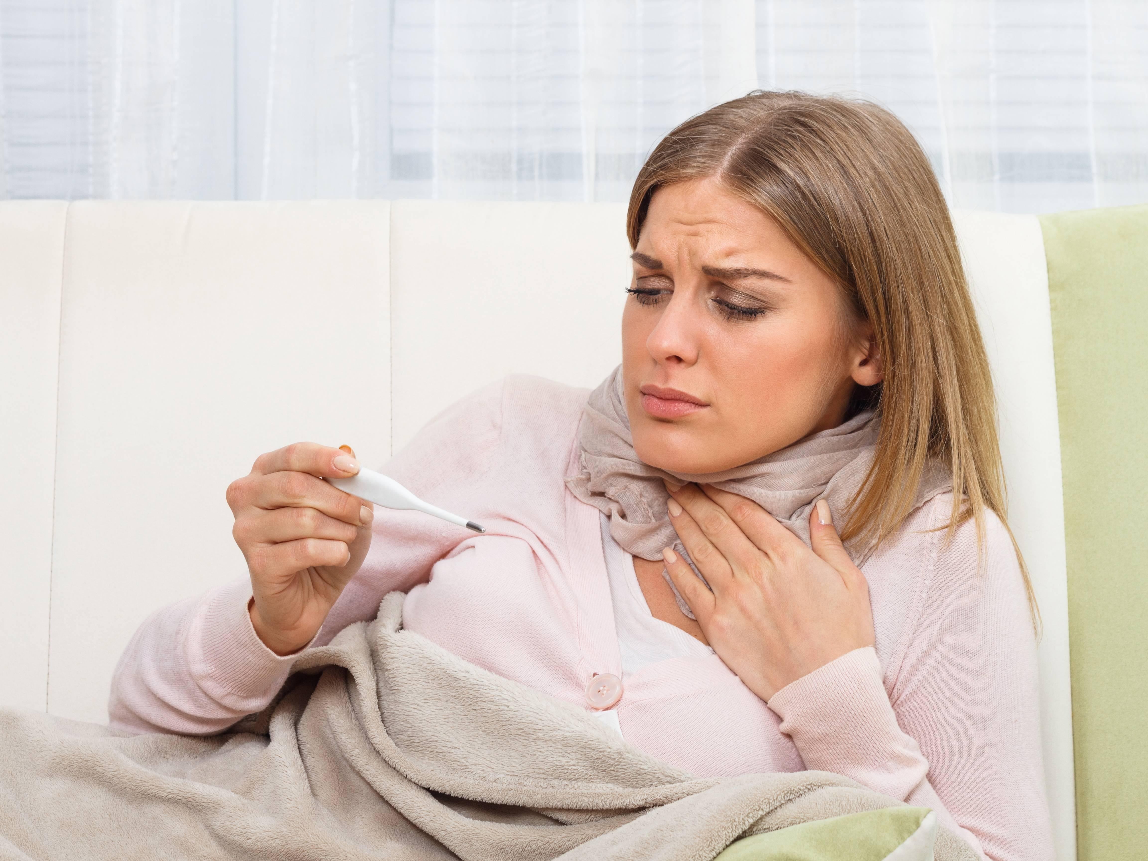 кашель насморк температура 37