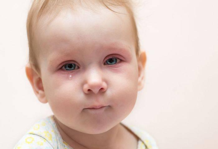 капли для глаз от воспаления для детей
