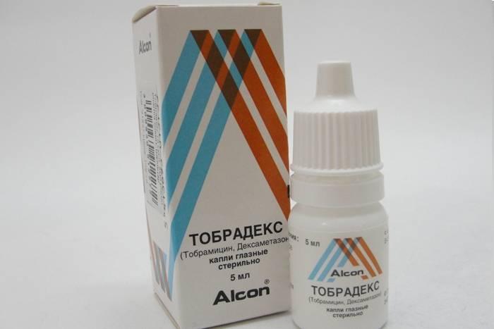 Капли тобрадекс глазные – инструкция по применению в глаза