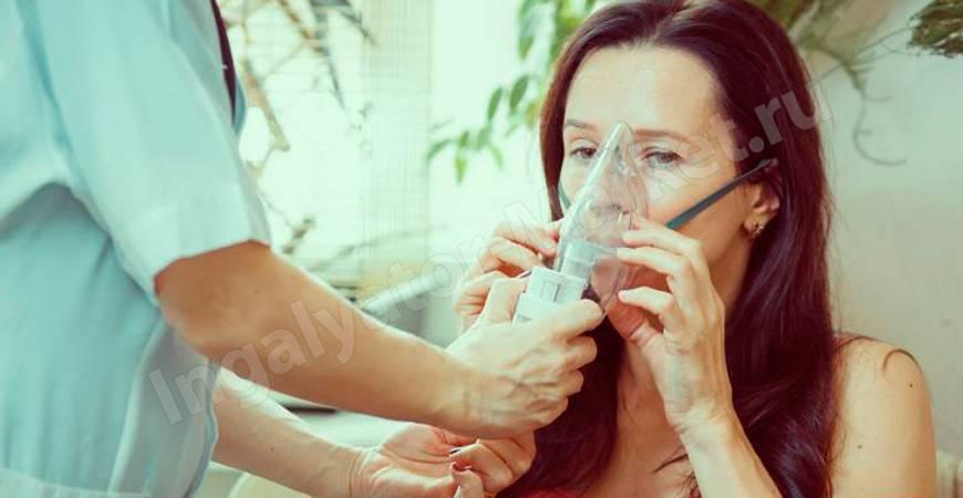 ингаляции при боли в горле небулайзером рецепты