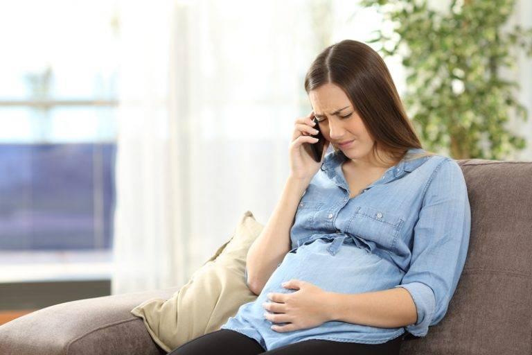 заложило уши при беременности