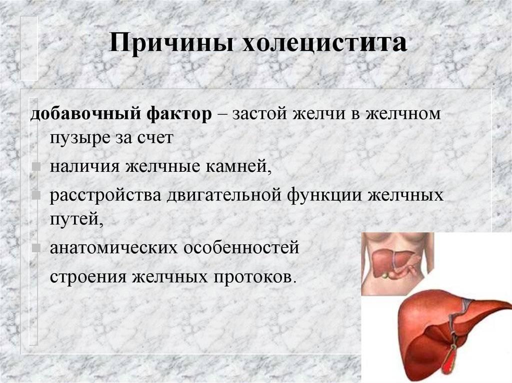 Симптомы холецистита у женщин. первые признаки, диагностика и лечение холецистита у женщин