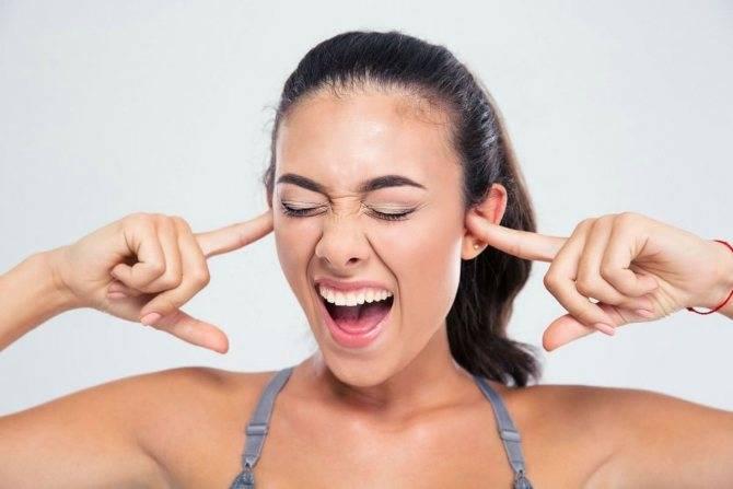 Давление в ушах при повышенном давлении