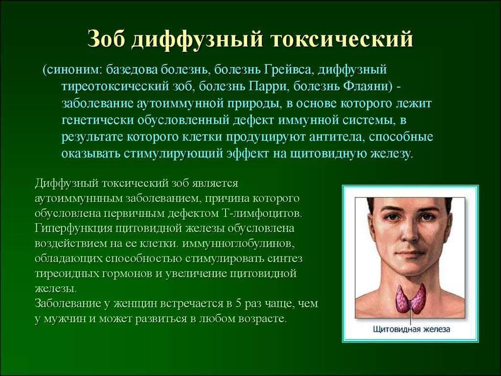 Причины и лечебные меры при диффузном и узловом нетоксическом зобе щитовидки
